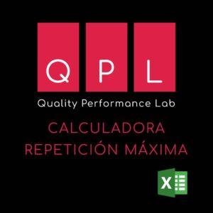 Calculadora en excel para repeticion maxima
